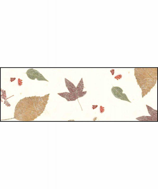 Naturpapier mit Blätter- und Blüteneinschlüssen, 35 g/m² 50 x 70 cm Art.-Nr.: 14572205 Leaves