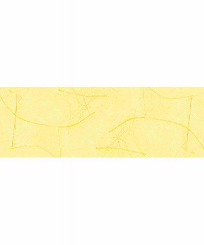 Mikado Handgeschöpftes Naturpapier, mit Fasern vom Bananenbaum, 50 g/m² In folgenden Varianten erhältlich 50 x 70 cm Art.-Nr.: 14722215 sonnengelb