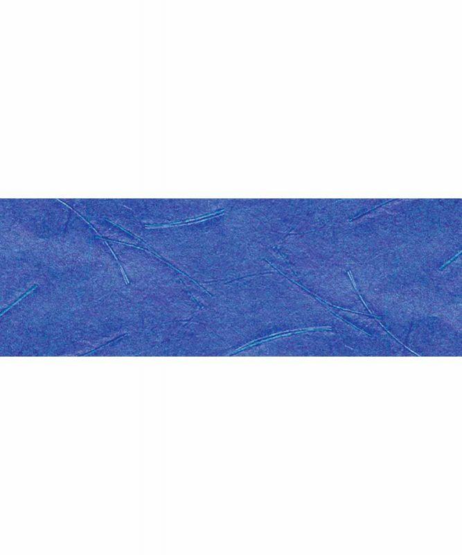 Mikado Handgeschöpftes Naturpapier, mit Fasern vom Bananenbaum, 50 g/m² In folgenden Varianten erhältlich 50 x 70 cm Art.-Nr.: 14722234 dunkelblau