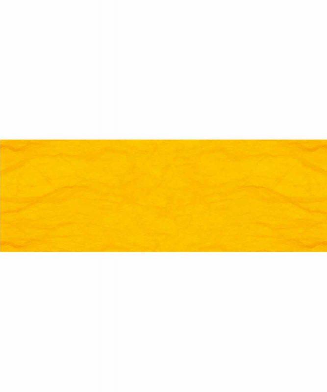 Seidenpapier mit Fasern vom Maulbeerbaum, 25 g/m² 23 x 33 cm, 5 Blatt, mit Banderole maisgelb Art.-Nr.: 60500019