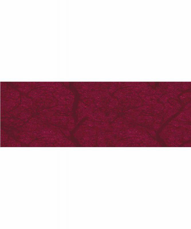 Seidenpapier mit Fasern vom Maulbeerbaum, 25 g/m² 23 x 33 cm, 5 Blatt, mit Banderole dunkelrot Art.-Nr.: 60500025