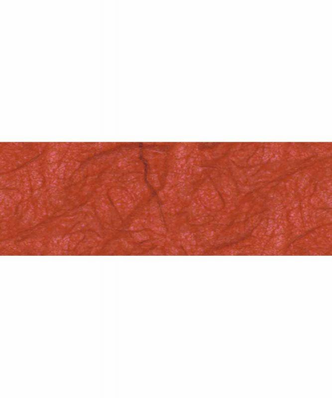 Seidenpapier mit Fasern vom Maulbeerbaum, 25 g/m² 23 x 33 cm, 5 Blatt, mit Banderole terracotta Art.-Nr.: 60500074