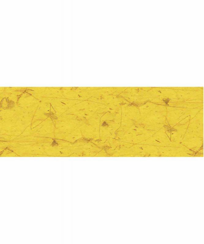 Naturpapier mit Fasern vom Bananenbaum, 35 g/m² 21 x 31 cm, 5 Blatt, mit Banderole citronengelb Art.-Nr.: 60510012