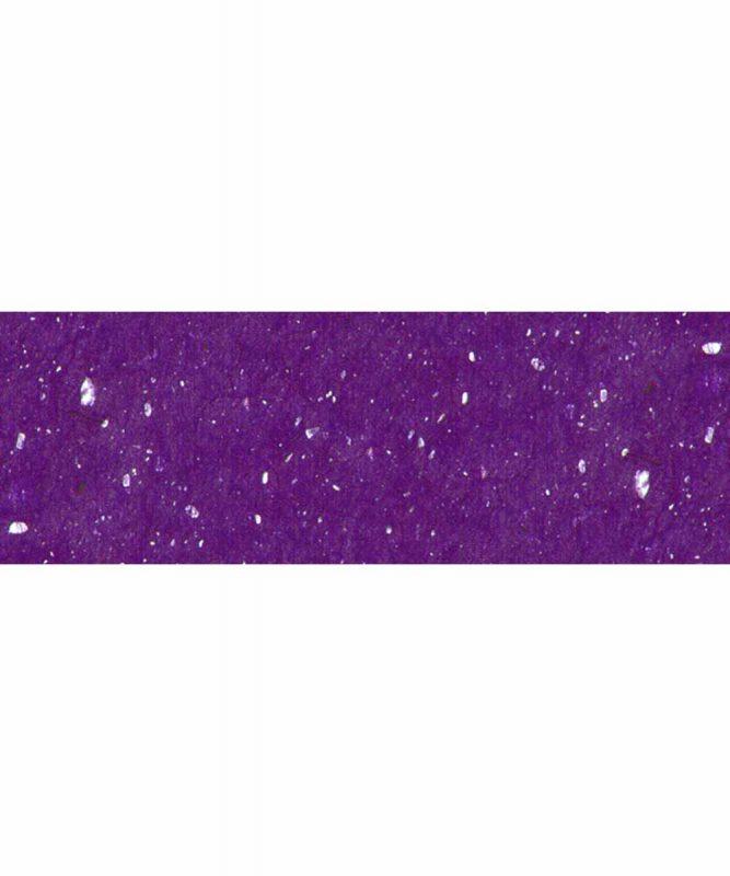 Muschelpapier Handgeschöpftes Naturpapier, mit Muschelpartikeln, 70 g/m² 23 x 33 cm, 5 Blatt, mit Banderole Art.-Nr.: 60520063 violett