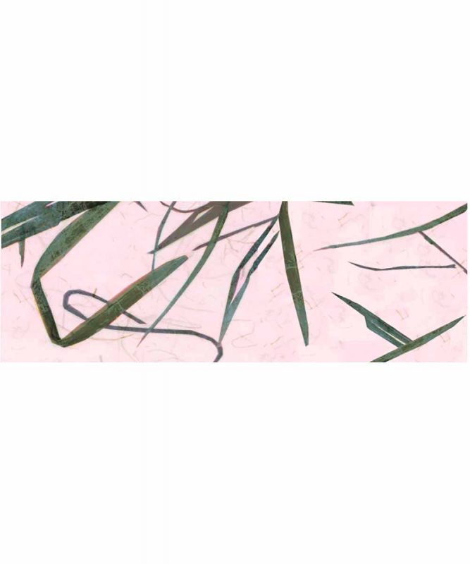 Bambuspapier Naturpapier mit Bambusfasern, 35 g/m² 23 x 33 cm, 5 Blatt, mit Banderole rosa Art.-Nr.: 60560026