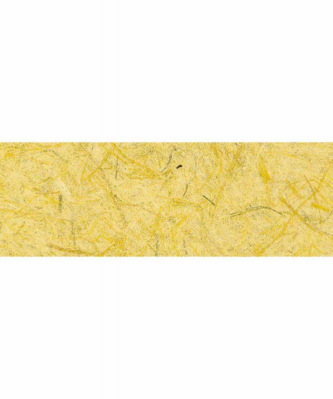 Graspapier Handgeschöpftes Naturpapier, mit Fasern vom Maulbeerbaum, 80 g/m² 23 x 33 cm, 5 Blatt, mit Banderole Art.-Nr.: 60720013 gelb