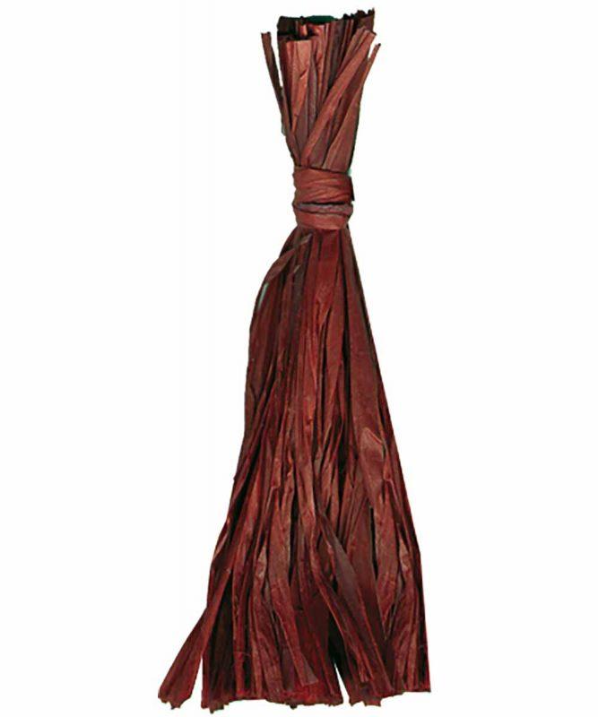 Naturbast von der Raffiapalme auf Madagaskar, gleichmäßig gefärbt, vielseitig verwendbar 50g Art.-Nr.: 6400074 schokobraun