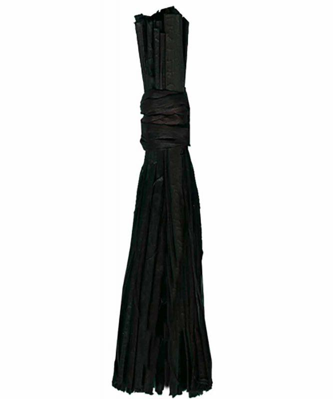 Naturbast von der Raffiapalme auf Madagaskar, gleichmäßig gefärbt, vielseitig verwendbar 50g Art.-Nr.: 6400090 schwarz