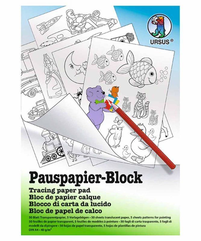 Pauspapier-Block, DIN A4, 50 Blatt Art.-Nr.: 7034600