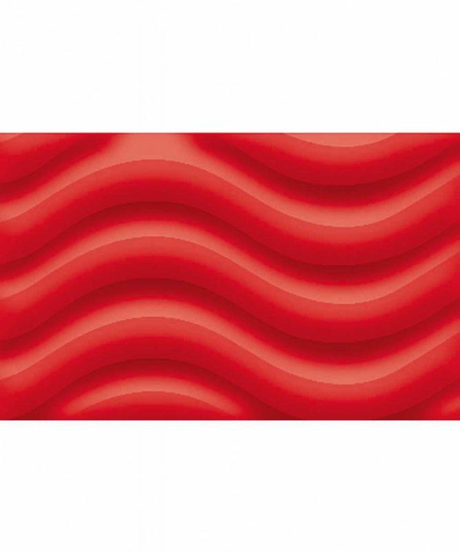 Runde Laternen aus 3D-Colorwellpappe rubinrot Art.-Nr.: 1350022