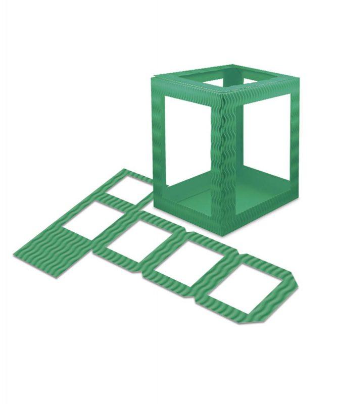Laternenpackung Form 1 dunkelgrün Art.-Nr.: 1410055 Art.-Nr.: 1400055
