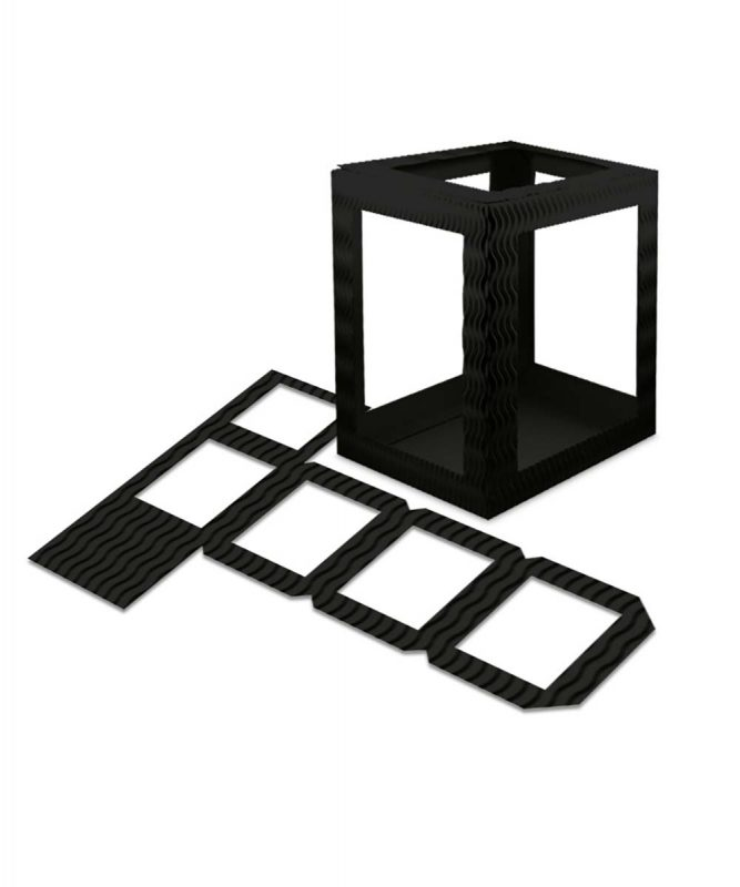 Laternenpackung Form 1 schwarz Art.-Nr.: 1410090 Art.-Nr.: 1400090