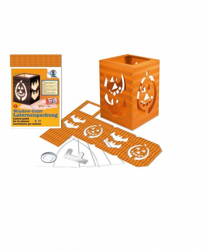 "Laternenpackung Form 3 ""Halloween"" orange Art.-Nr.: 1480041"