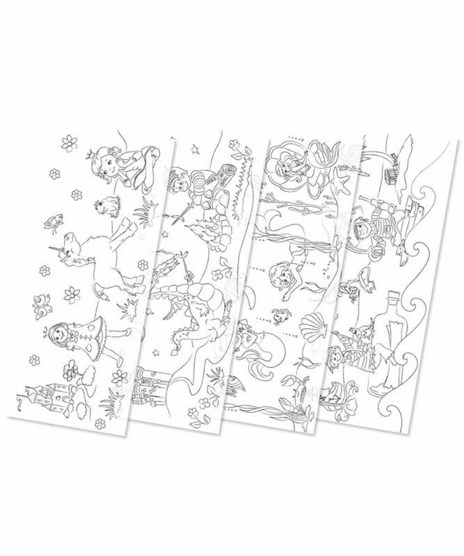 Laternenzuschnitte Ausmal-Laternenzuschnitte, sortiert in 4 Motiven Art.-Nr.: 18130099