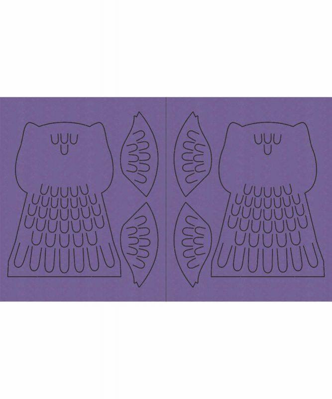 """Leucht-Tasche """"Eule"""" Art.-Nr.: 18500001"""