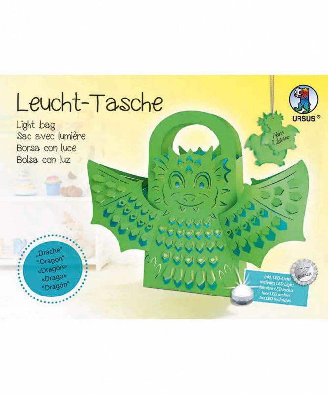 "Leucht-Tasche ""Drache"" Art.-Nr.: 18500002"