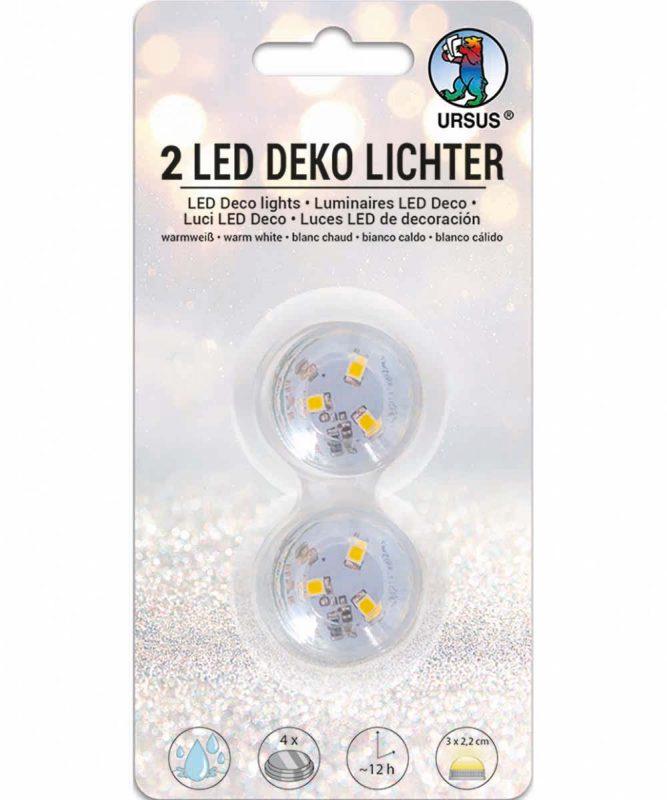 LED Deko Lichter 2 Stück Art.-Nr.: 18600000