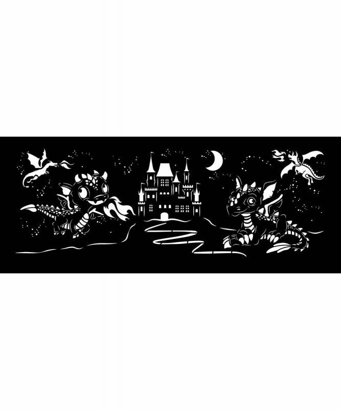 """Silhouetten-Laterne """"Drachen"""" Art.-Nr.: 18750002"""