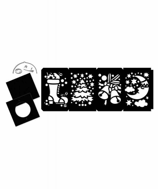Laternen-Bastelsets gelasert Laterne 2 Art.-Nr.: 2040099