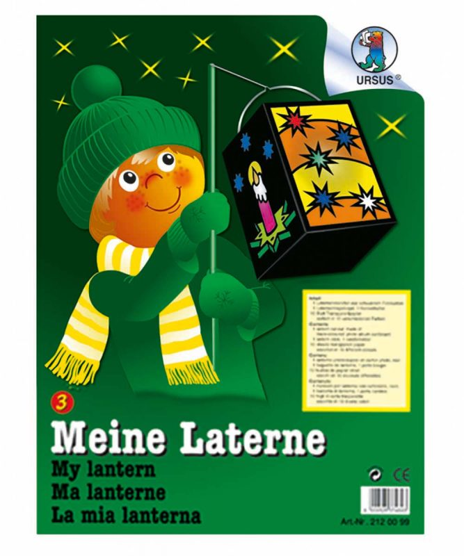 Laternen-Bastelsets gelasert Laterne 3 Art.-Nr.: 2120099