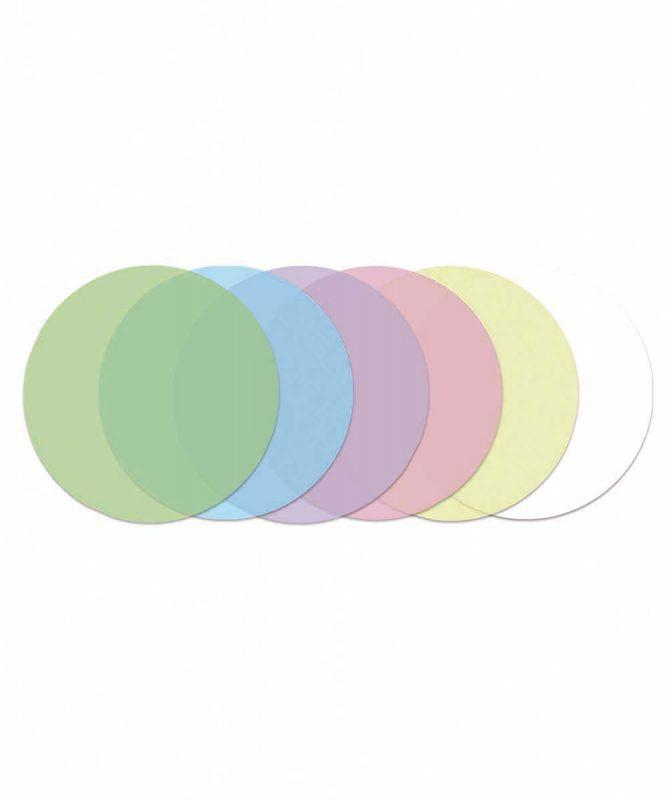 Laternenzuschnitte rund 115 g/m² pastell Art.-Nr.: 2280099