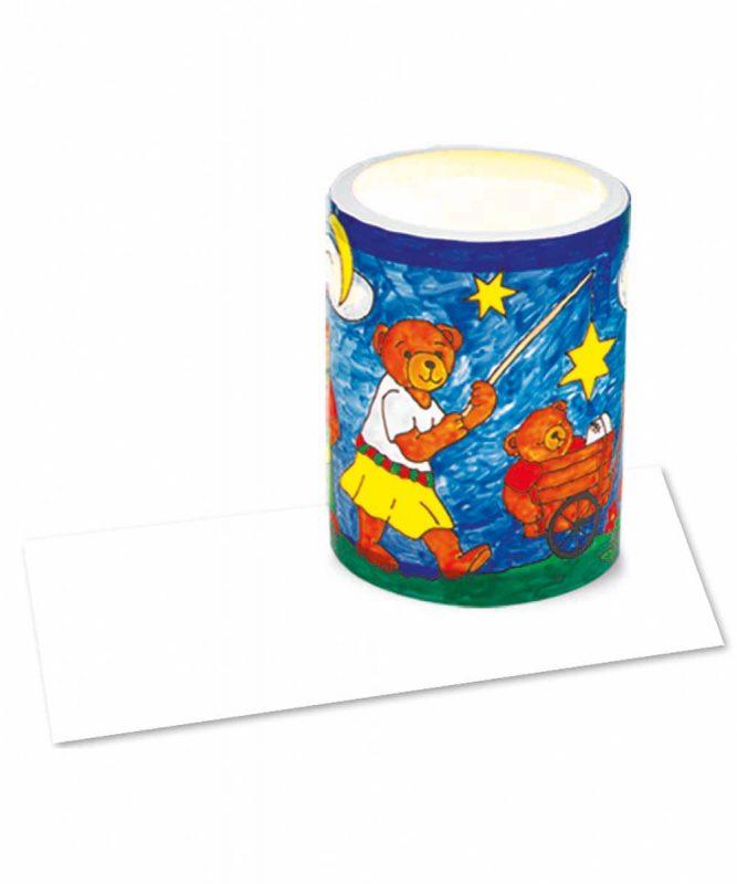 """Laternenzuschnitte """"Laternen-Kreativ-Folie"""" 0,2 mm, matt, weiß opak Art.-Nr.: 2320000"""