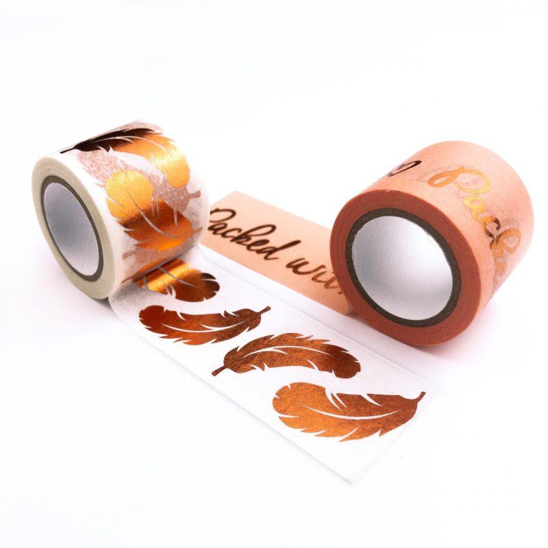 Masking Tpe veredelt (30 mm x 10 m) Klebeband aus Papier bedruckt unf folienveredelt lösungsmittel- und säurefrei Art.-Nr.: 58990010 Art.-Nr.: 58990001