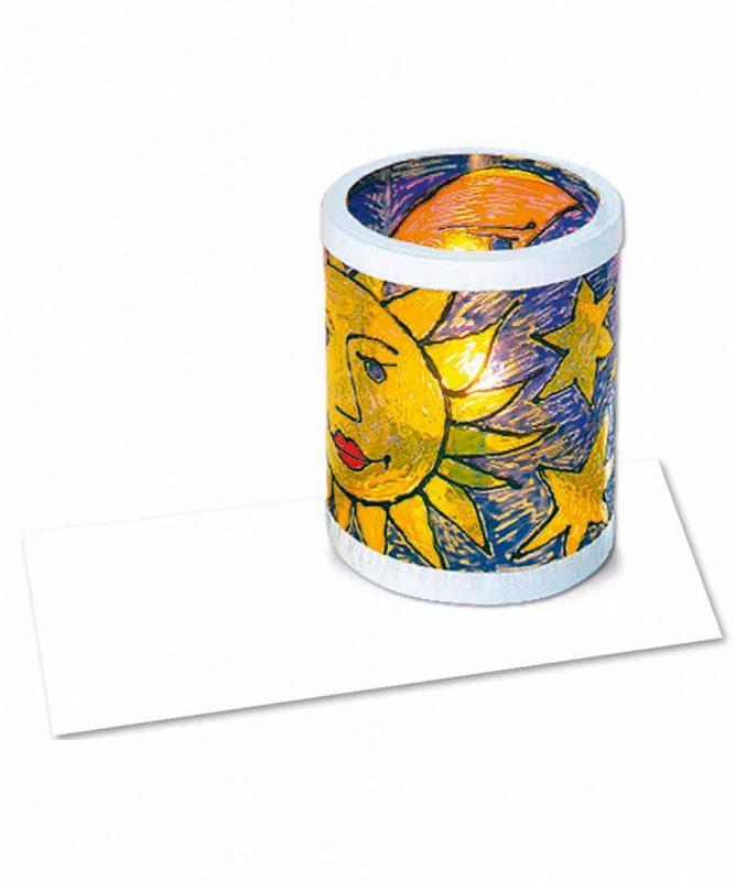 "Laternenzuschnitte ""Windrad-Kreativ-Folie"" 0,2 mm, hochtransparent Art.-Nr.: 2440000"