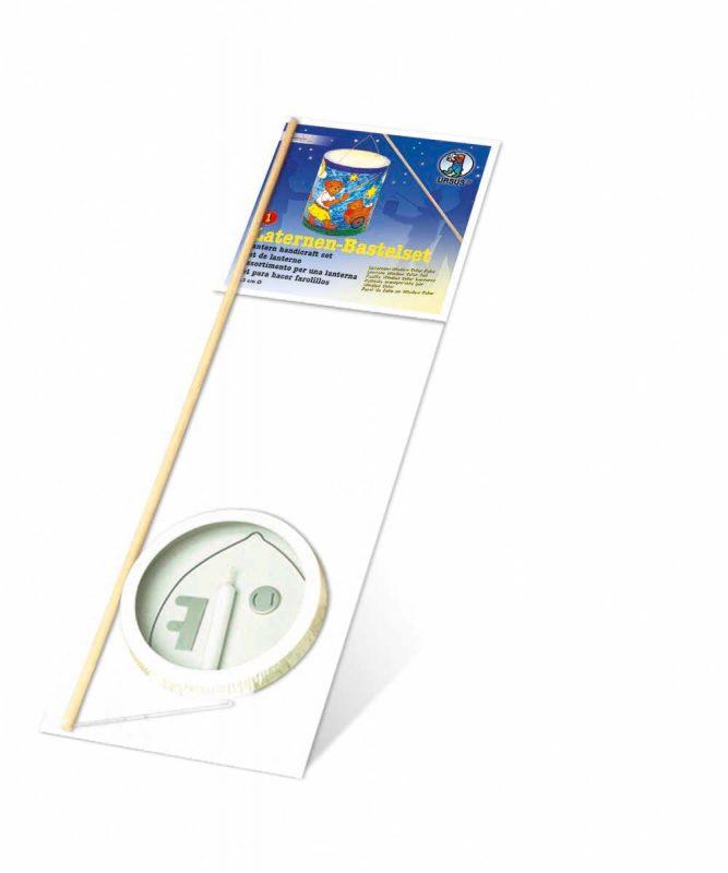 Laternen Bastelkomplettsets Laternen-Bastelset 1, mit Kreativ-Folie matt, weiß opak Art.-Nr.: 6700000
