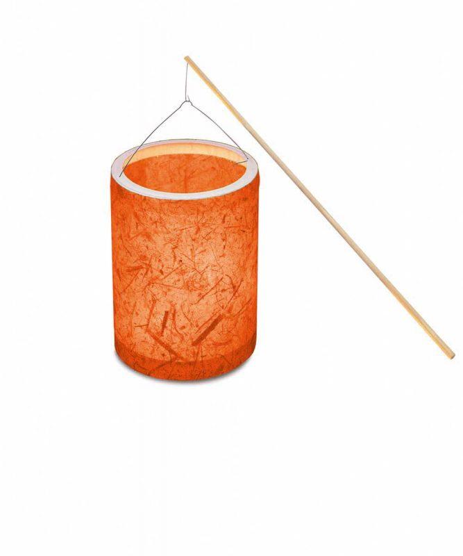 """Laternen Bastelkomplettsets Laternen-Bastelset 6, mit Bananenpapier """"orange"""" Art.-Nr.: 6750000"""