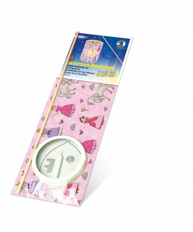 "Laternen Bastelkomplettsets Laternen-Bastelset 10, mit Transparentpapier ""Prinzessin"" Art.-Nr.: 6790000"