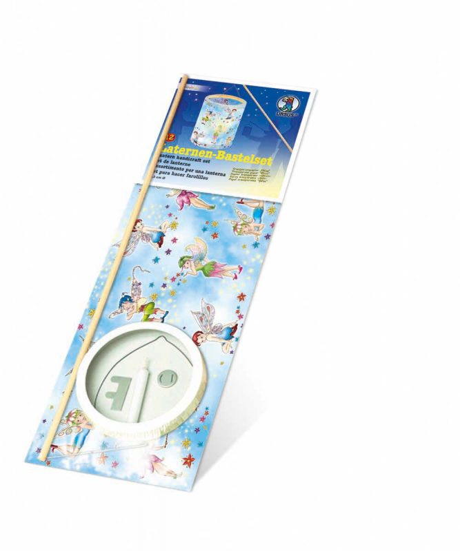 "Laternen Bastelkomplettsets Laternen-Bastelset 12, mit Transparentpapier ""Elfen"" Art.-Nr.: 6810000"
