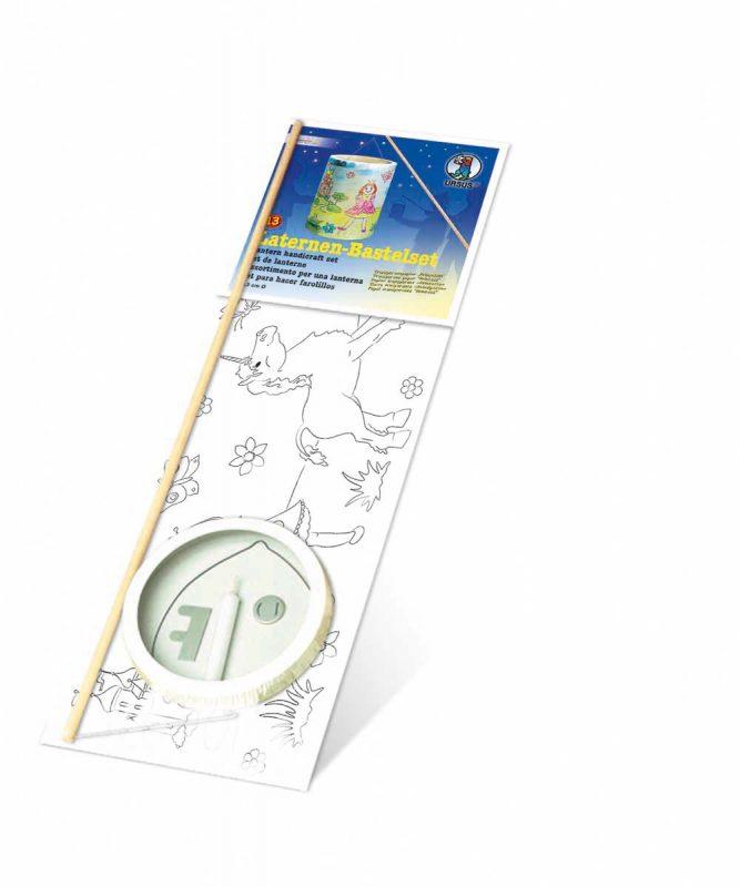 """Laternen Bastelkomplettsets Laternen-Bastelset 13, mit Transparentpapier zum Ausmalen """"Prinzessin"""" Art.-Nr.: 6820000"""