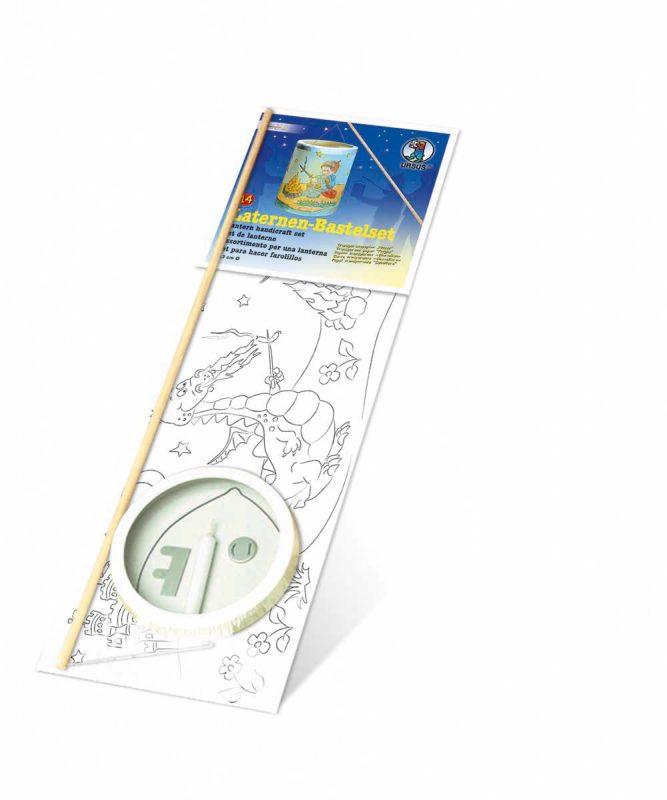 "Laternen Bastelkomplettsets Laternen-Bastelset 14, mit Transparentpapier zum Ausmalen ""Ritter"" Art.-Nr.: 6830000"