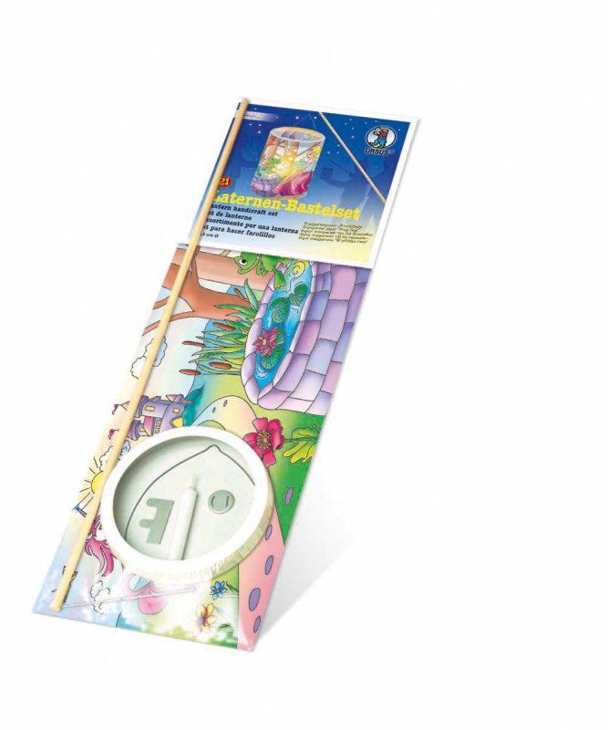 "Laternen Bastelkomplettsets Laternen-Bastelset 21, mit Transparentpapier ""Froschkönig"" Art.-Nr.: 7350000"
