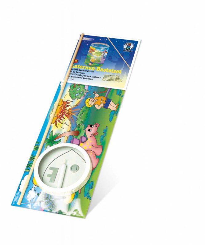 "Laternen Bastelkomplettsets Laternen-Bastelset 24, mit Transparentpapier ""Dinos"" Art.-Nr.: 7380000"